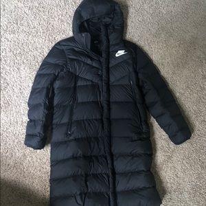 Large Nike parka jacket